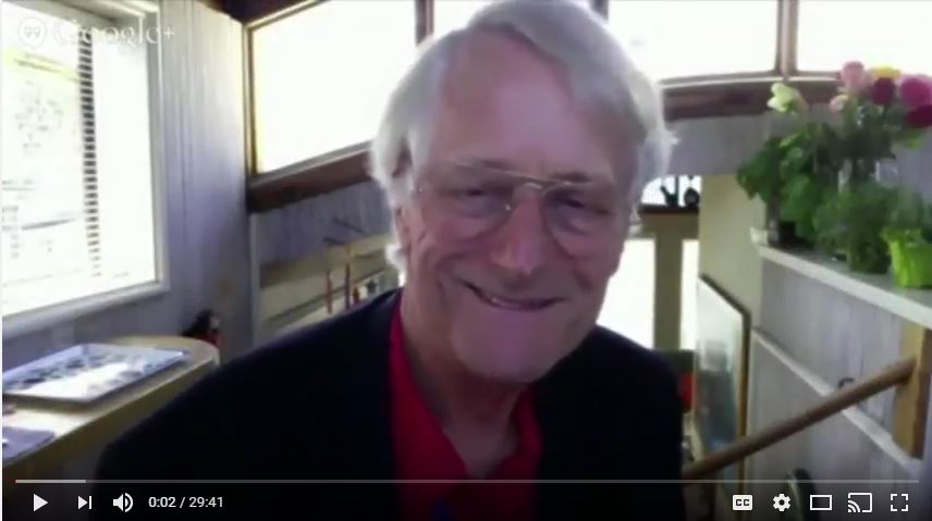Ted Nelson interview - click on image to play interview