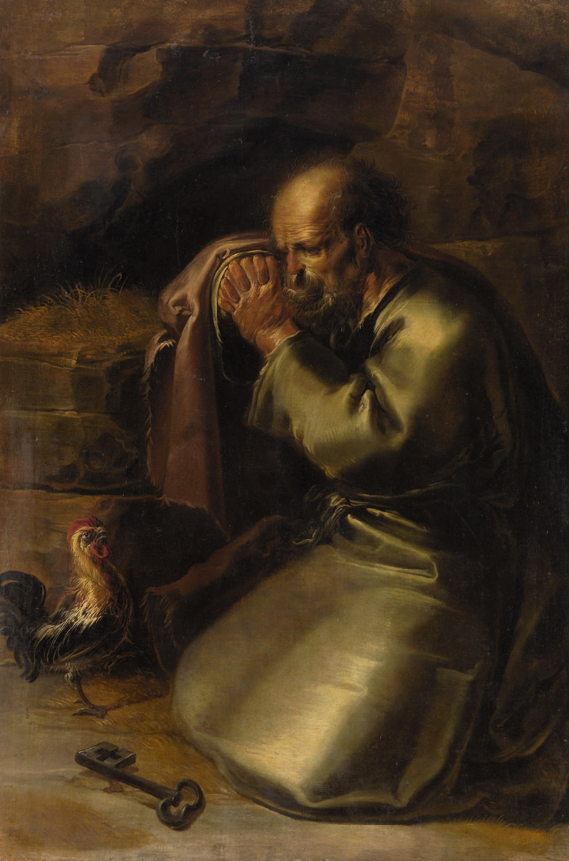 The Denial of St. Peter, by Jan van de Venne