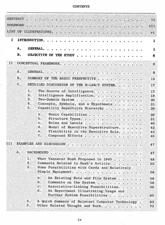 Graphic of Table of Contents, Week 1 highlighted
