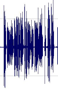 Image of audio waveform